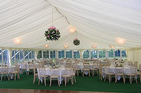 Marquee Hire across Hampshire, Wiltshire and London