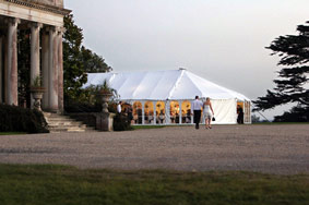Southern Marquees providing Marquee Hire at Stansted House